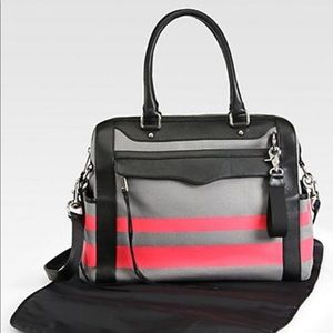 Rebecca Minkoff Knocked up diaper bag with nylon